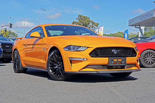 Used Ford Mustang FN 2018MY GT Fastback, 2018 Ford Mustang FN 2018MY GT Fastback Orange 6 Speed Manual Fastback