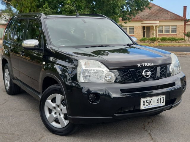Used Nissan X-Trail T31 ST, 2008 Nissan X-Trail T31 ST Black/Grey 6 Speed Manual Wagon