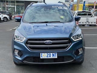 2019 Ford Escape ZG 2019.25MY ST-Line AWD Blue 6 Speed Sports Automatic Wagon.
