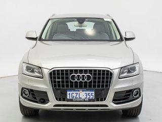 2015 Audi Q5 8R MY15 2.0 TDI Quattro Cuvee Silver 7 Speed Auto Dual Clutch Wagon.