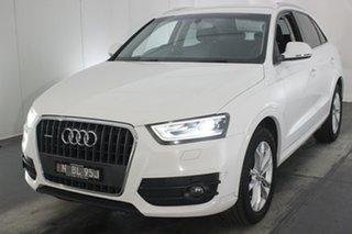 2014 Audi Q3 8U MY14 TFSI S Tronic Quattro Cortina White 7 Speed Sports Automatic Dual Clutch Wagon