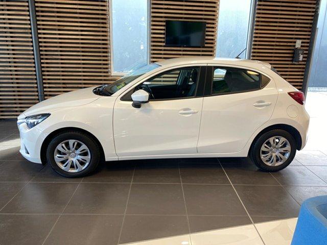 Demo Mazda 2 DL2SAA Neo SKYACTIV-Drive, 2019 Mazda 2 DL2SAA Neo SKYACTIV-Drive Snowflake White Pearl 6 Speed Sports Automatic Sedan