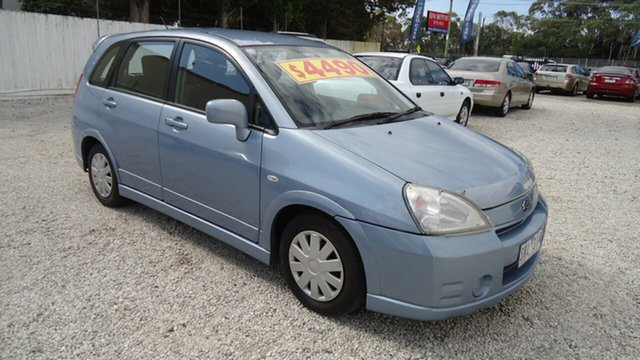 Used Suzuki Liana RH416 Type 3 GS, 2002 Suzuki Liana RH416 Type 3 GS Blue 5 Speed Manual Hatchback