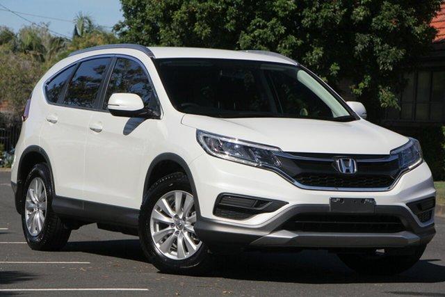 Used Honda CR-V RM Series II MY17 VTi, 2016 Honda CR-V RM Series II MY17 VTi White 5 Speed Automatic Wagon