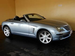 2004 Chrysler Crossfire ZH Roadster Silver 5 Speed Sequential Auto Convertible.