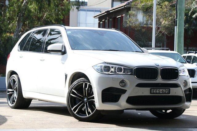 Used BMW X5 F85 MY16 M, 2016 BMW X5 F85 MY16 M White 8 Speed Automatic Wagon