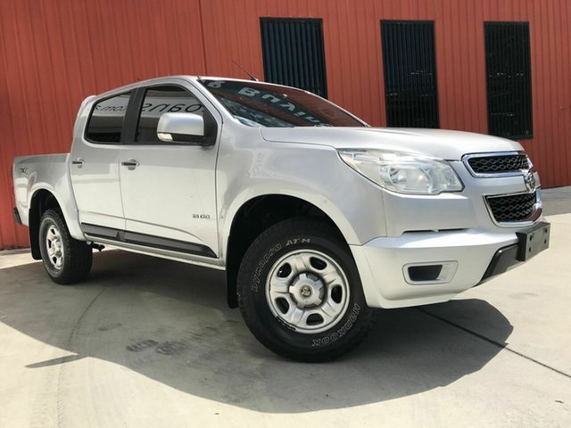Used Holden Colorado RG MY14 LX Crew Cab, 2014 Holden Colorado RG MY14 LX Crew Cab Silver 6 Speed Sports Automatic Utility