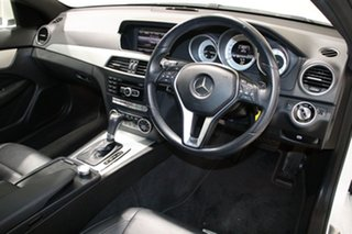 2013 Mercedes-Benz C250 W204 MY14 CDI White 7 Speed Automatic G-Tronic Coupe