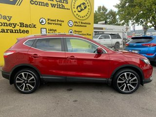 2017 Nissan Qashqai J11 TI Magnetic Red 1 Speed Constant Variable Wagon