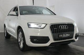 2014 Audi Q3 8U MY14 TFSI S Tronic Quattro Cortina White 7 Speed Sports Automatic Dual Clutch Wagon.