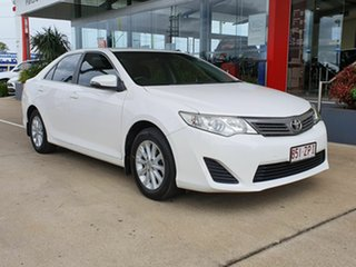 2014 Toyota Camry Altise White 5 Speed Automatic Sedan.