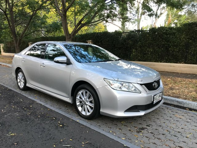 Used Toyota Aurion GSV50R AT-X, 2017 Toyota Aurion GSV50R AT-X Silver 6 Speed Sports Automatic Sedan