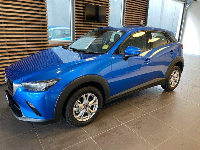 Demo Mazda CX-3 DK2W7A Maxx SKYACTIV-Drive FWD Sport, 2019 Mazda CX-3 DK2W7A Maxx SKYACTIV-Drive FWD Sport Dynamic Blue Mica 6 Speed Sports Automatic
