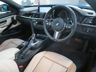 2014 BMW 4 Series F32 420i M Sport Estoril Blue 8 Speed Sports Automatic Coupe