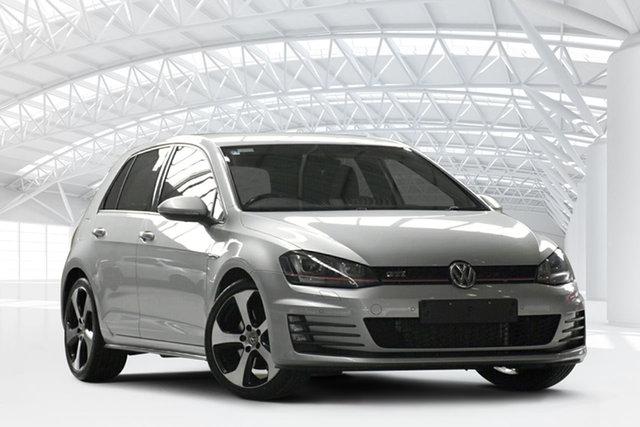 Used Volkswagen Golf AU MY17 GTi, 2016 Volkswagen Golf AU MY17 GTi Reflex Silver 6 Speed Direct Shift Hatchback