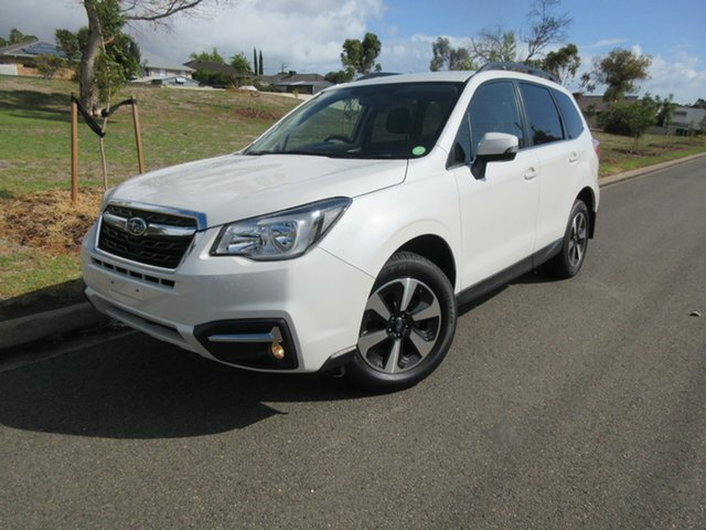 Used Subaru Forester S4 MY18 2.5i-L CVT AWD, 2017 Subaru Forester S4 MY18 2.5i-L CVT AWD White 6 Speed Constant Variable Wagon