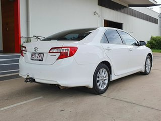2014 Toyota Camry Altise White 5 Speed Automatic Sedan