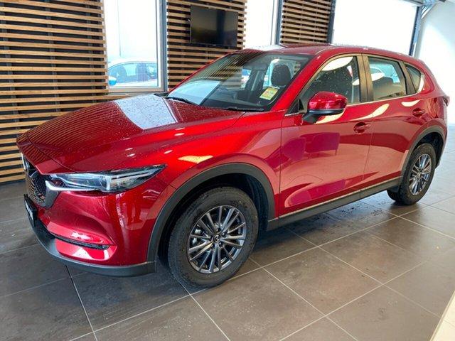 Demo Mazda CX-5 MY19 (KF Series 2) Maxx Sport (4x2), 2019 Mazda CX-5 MY19 (KF Series 2) Maxx Sport (4x2) Soul Red Crystal 6 Speed Automatic Wagon