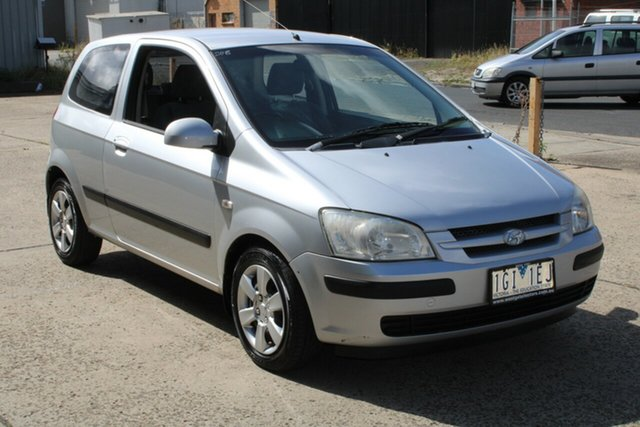 Used Hyundai Getz TB GL West Footscray, 2005 Hyundai Getz TB GL 5 Speed Manual Hatchback