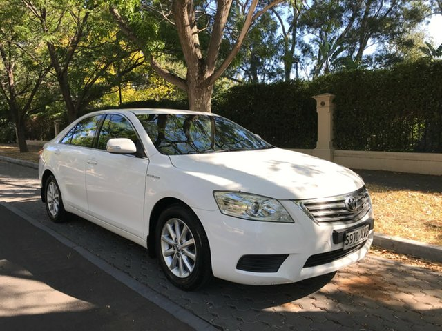 Used Toyota Aurion GSV40R MY10 AT-X, 2010 Toyota Aurion GSV40R MY10 AT-X White 6 Speed Sports Automatic Sedan