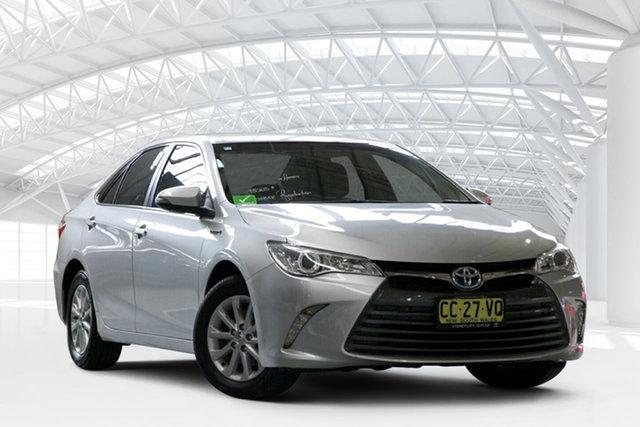 Used Toyota Camry AVV50R MY15 Altise Hybrid, 2015 Toyota Camry AVV50R MY15 Altise Hybrid Silver Pearl Continuous Variable Sedan