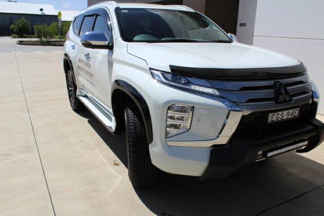 Demo Mitsubishi Pajero Sport QF MY20 Exceed, 2019 Mitsubishi Pajero Sport QF MY20 Exceed White 8 Speed Sports Automatic Wagon