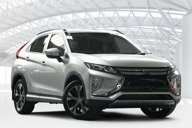 Used Mitsubishi Eclipse Cross YA LS (2WD), 2018 Mitsubishi Eclipse Cross YA LS (2WD) Silver Continuous Variable Wagon