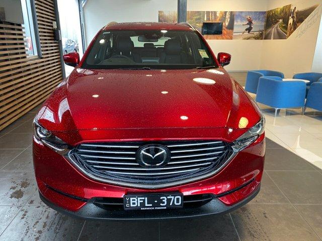 Demo Mazda CX-8 CX8C Touring (FWD), 2020 Mazda CX-8 CX8C Touring (FWD) Soul Red Crystal 6 Speed Automatic Wagon