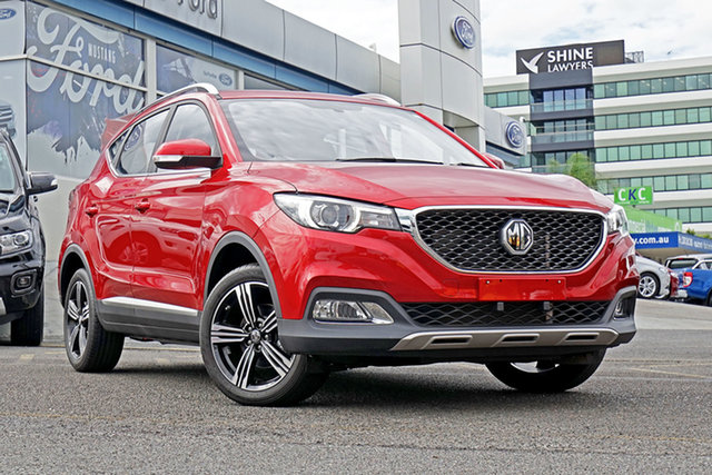 New MG ZS AZS1 MY19 Excite 2WD, 2019 MG ZS AZS1 MY19 Excite 2WD Red 4 Speed Automatic Wagon
