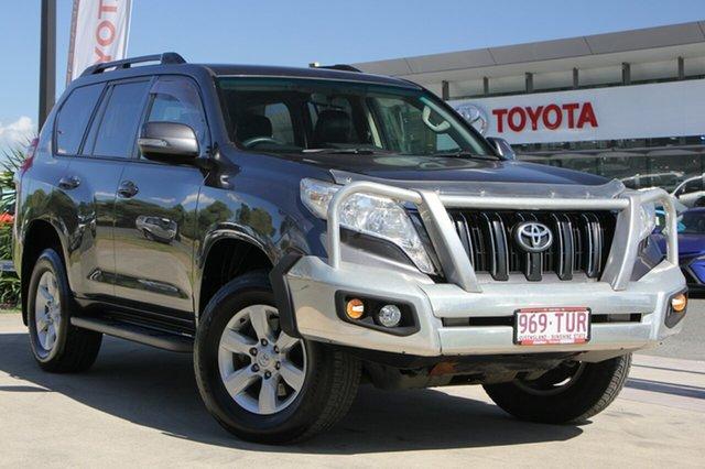 Used Toyota Landcruiser Prado KDJ150R MY14 GXL, 2014 Toyota Landcruiser Prado KDJ150R MY14 GXL Graphite 5 Speed Sports Automatic Wagon