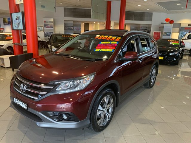Used Honda CR-V RM VTi-L 4WD, 2013 Honda CR-V RM VTi-L 4WD Red 5 Speed Automatic Wagon
