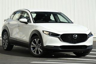 2020 Mazda CX-30 CX-30A G25 Touring (FWD) Snowflake White Pearl 6 Speed Automatic Wagon