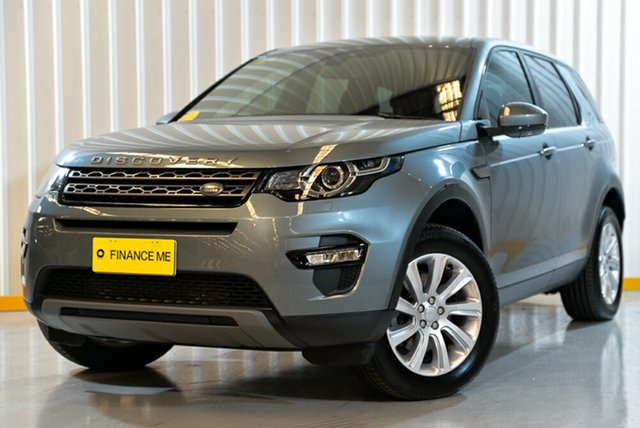 Used Land Rover Discovery Sport L550 16.5MY Td4 SE, 2016 Land Rover Discovery Sport L550 16.5MY Td4 SE Grey 9 Speed Sports Automatic Wagon