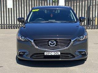 2017 Mazda 6 GL1031 Touring SKYACTIV-Drive Grey 6 Speed Sports Automatic Sedan.