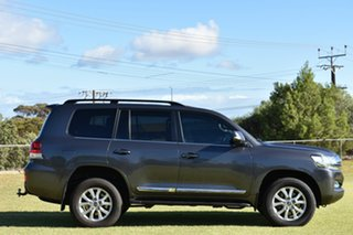 2018 Toyota Landcruiser VDJ200R Sahara Grey 6 Speed Sports Automatic Wagon.