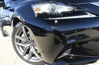2016 Lexus IS350 GSE31R MY16 F Sport Black 8 Speed Automatic Sedan.