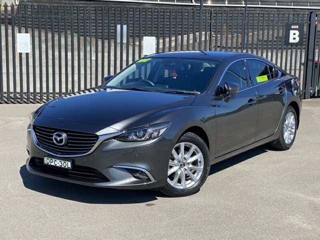 Used Mazda 6 GL1031 Touring SKYACTIV-Drive, 2017 Mazda 6 GL1031 Touring SKYACTIV-Drive Grey 6 Speed Sports Automatic Sedan