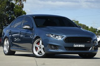 2015 Ford Falcon FG X XR8 Blue 6 Speed Manual Sedan.