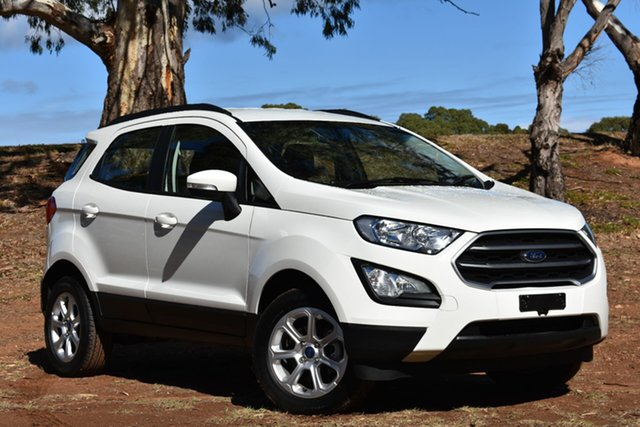 Used Ford Ecosport BL 2019.25MY Trend, 2019 Ford Ecosport BL 2019.25MY Trend White 6 Speed Automatic Wagon