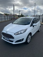 2016 Ford Fiesta WZ Trend PwrShift White 6 Speed Sports Automatic Dual Clutch Hatchback