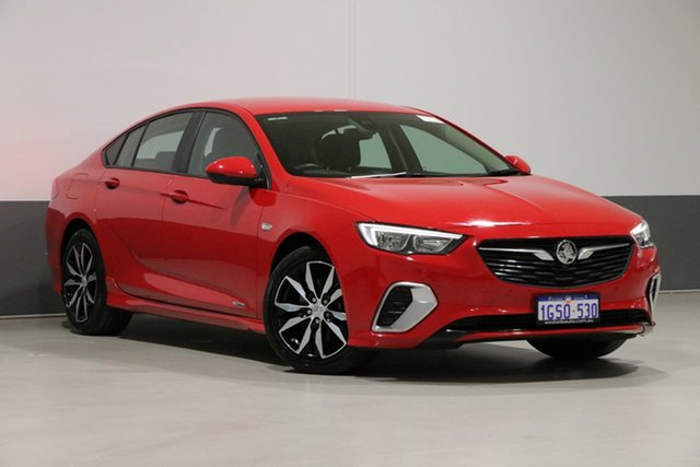 Used Holden Commodore ZB MY19.5 RS, 2019 Holden Commodore ZB MY19.5 RS Red 9 Speed Automatic Liftback
