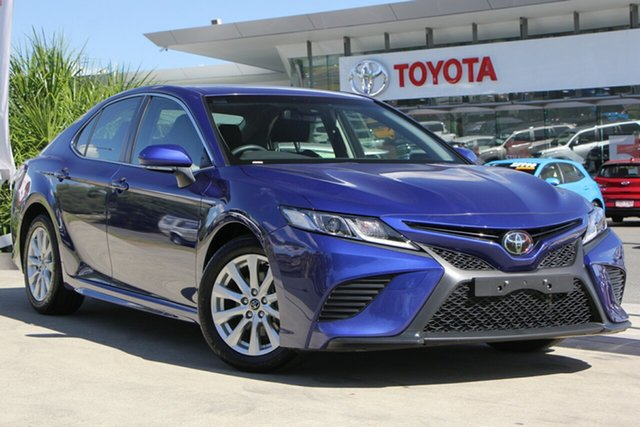 Used Toyota Camry ASV70R Ascent Sport, 2018 Toyota Camry ASV70R Ascent Sport Lunar Blue 6 Speed Sports Automatic Sedan
