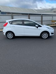 2016 Ford Fiesta WZ Trend PwrShift White 6 Speed Sports Automatic Dual Clutch Hatchback.