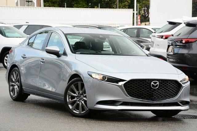 New Mazda 3 BP2S7A G20 SKYACTIV-Drive Evolve, 2019 Mazda 3 BP2S7A G20 SKYACTIV-Drive Evolve Sonic Silver 6 Speed Sports Automatic Sedan