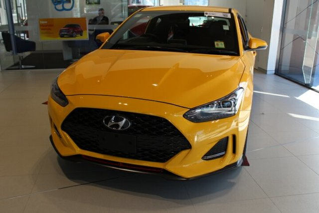New Hyundai Veloster JS MY20 Turbo Coupe D-CT, 2020 Hyundai Veloster JS MY20 Turbo Coupe D-CT Thunder Bolt 7 Speed Sports Automatic Dual Clutch
