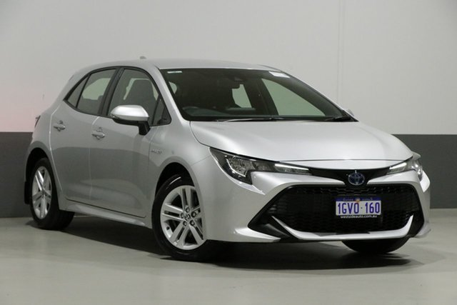Used Toyota Corolla ZWE211R Ascent Sport Hybrid, 2019 Toyota Corolla ZWE211R Ascent Sport Hybrid Silver Continuous Variable Hatchback