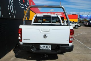2016 Holden Colorado RG MY16 LS Crew Cab Summit White 6 Speed Sports Automatic Utility