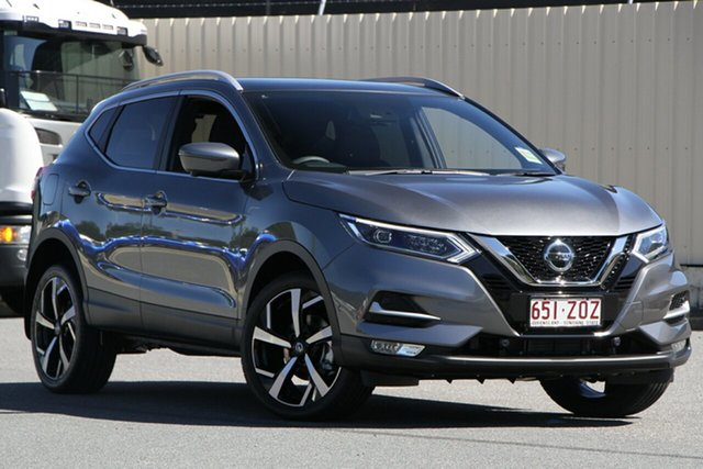 Demo Nissan Qashqai J11 Series 3 MY20 Ti X-tronic, 2020 Nissan Qashqai J11 Series 3 MY20 Ti X-tronic Gun Metallic 1 Speed Constant Variable Wagon
