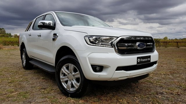 Used Ford Ranger PX MkIII 2019.00MY XLT Pick-up Double Cab 4x2 Hi-Rider, 2018 Ford Ranger PX MkIII 2019.00MY XLT Pick-up Double Cab 4x2 Hi-Rider Frozen White 6 Speed