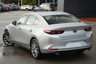 2019 Mazda 3 BP2S7A G20 SKYACTIV-Drive Evolve Sonic Silver 6 Speed Sports Automatic Sedan.